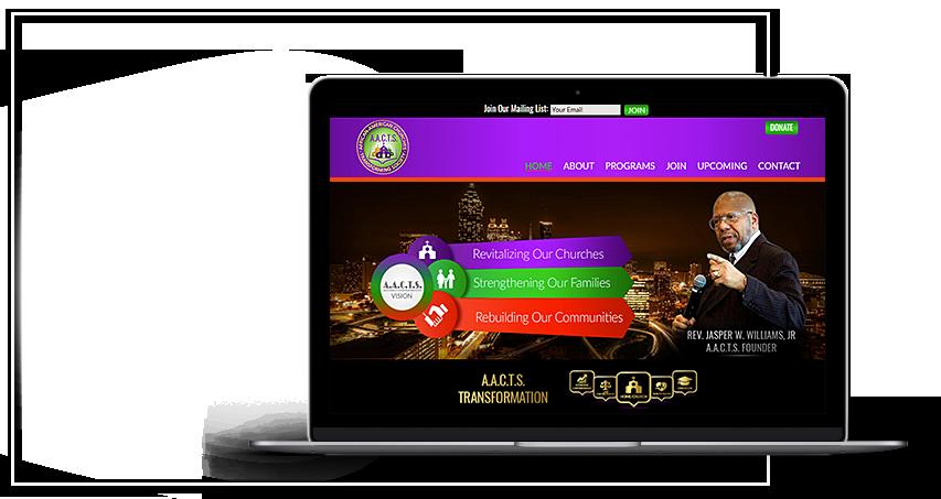 aacts-charity-wordpress-website-designs