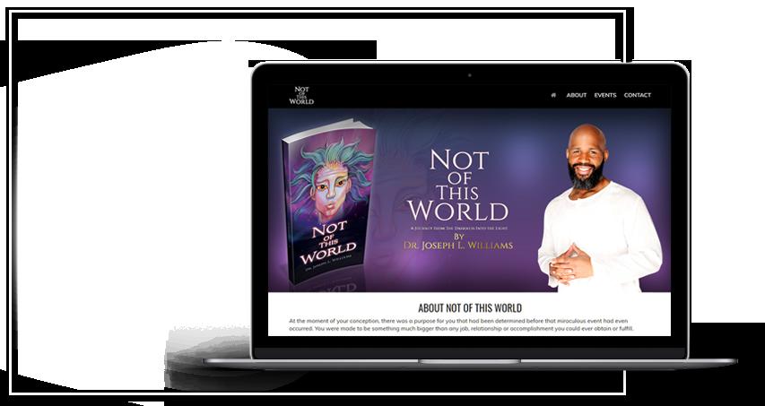 christian-book-promotion-website-design
