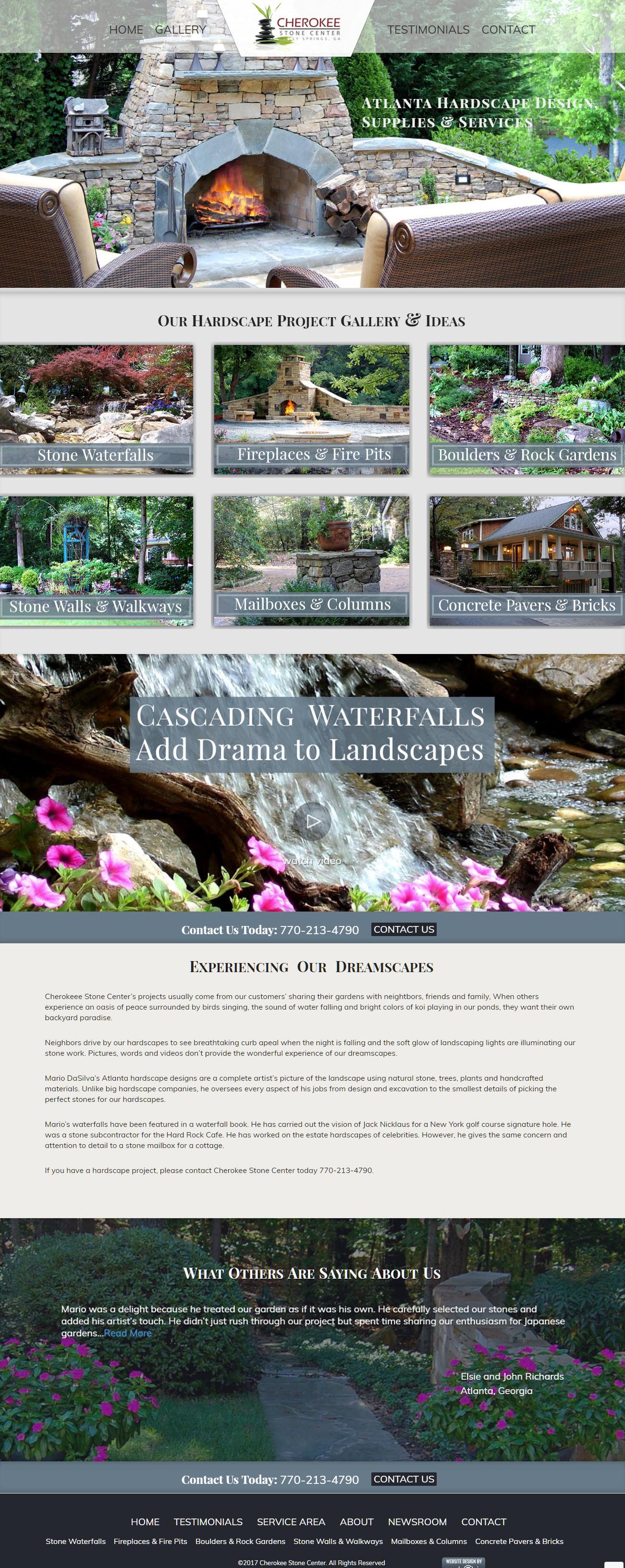 hardscaper-website-design