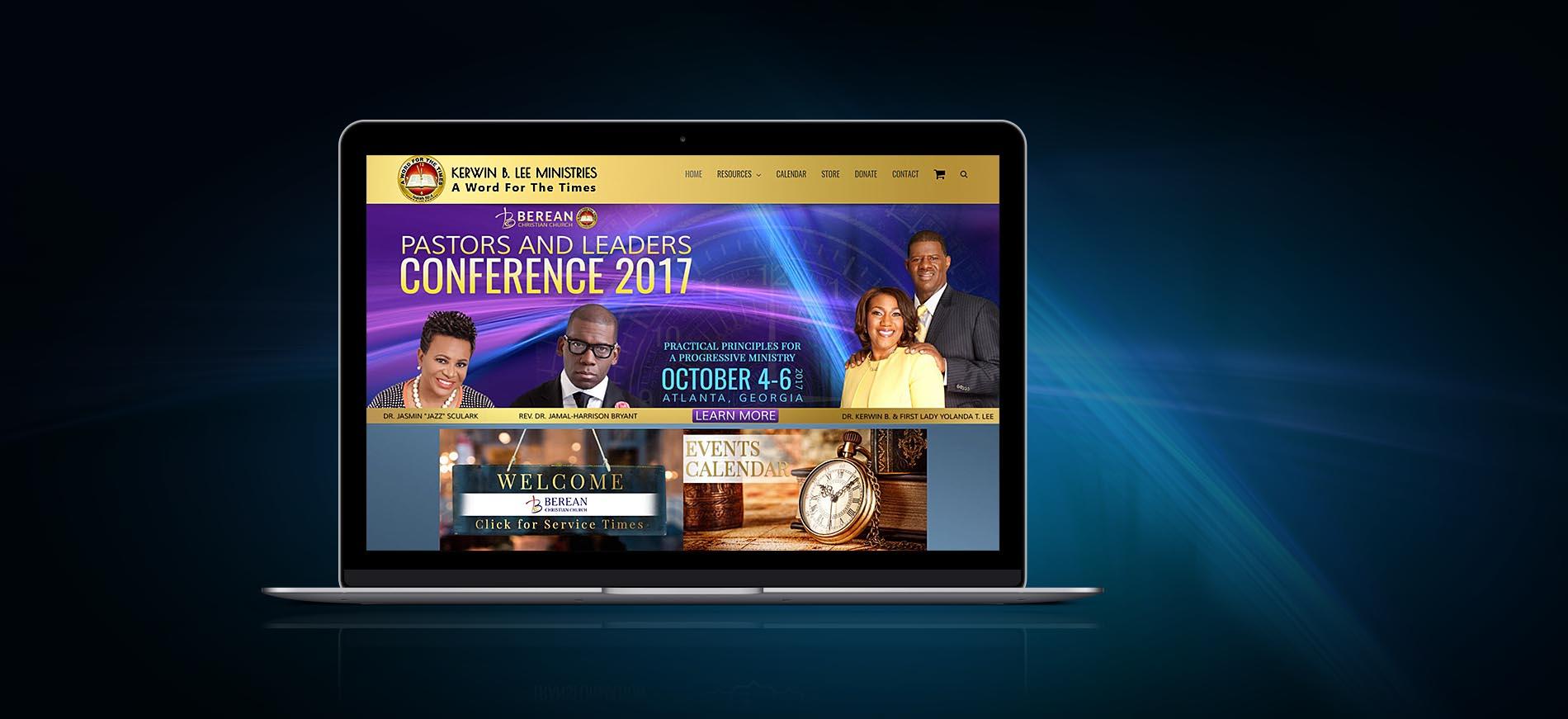 klee-ministry-wordpress-website