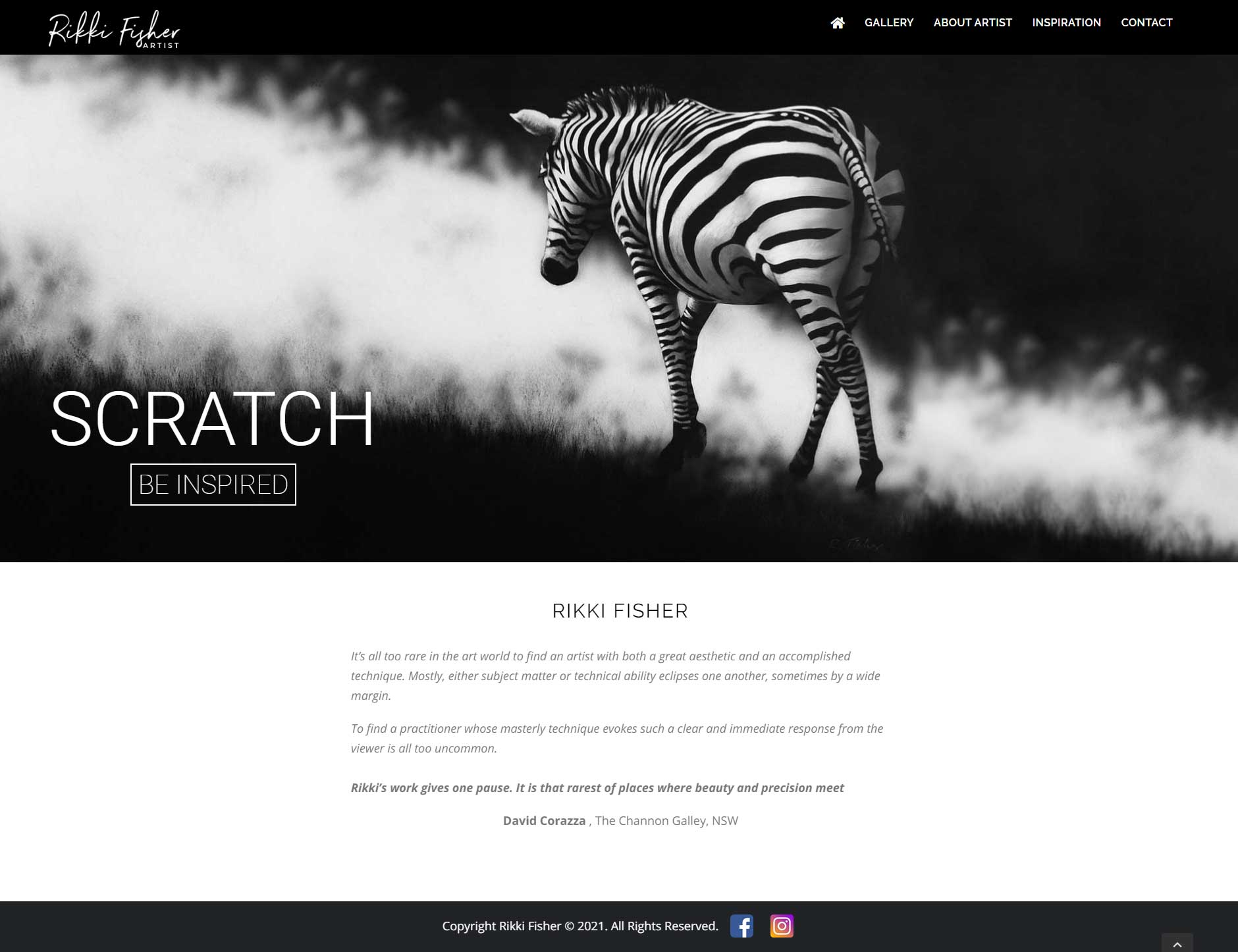 rikkifisher-artist-wordpress-design-home